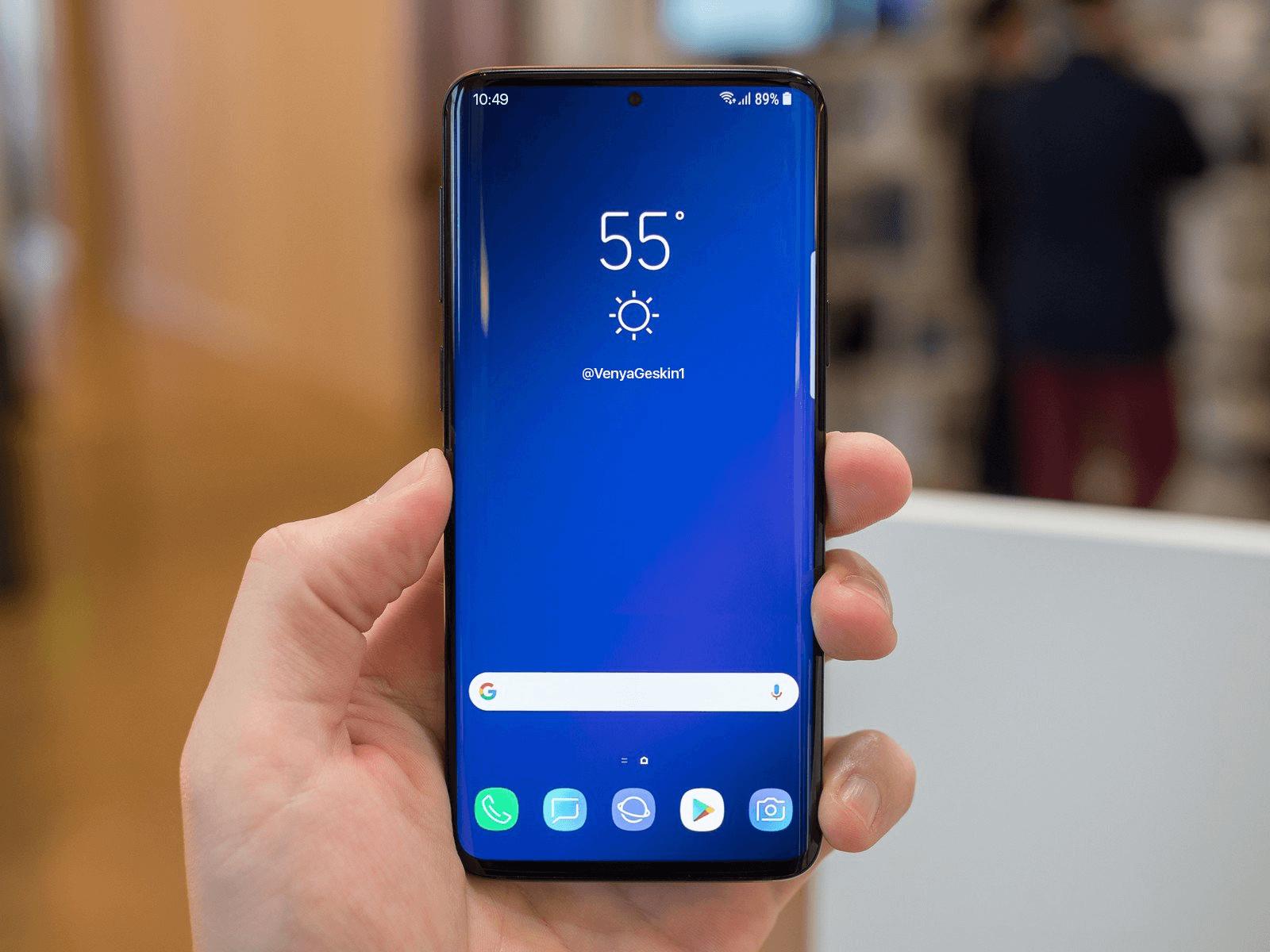 galaxy s10 conceito - Samsung deve lançar carteiras para criptomoedas
