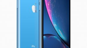 iPhone XR blue back 09122018