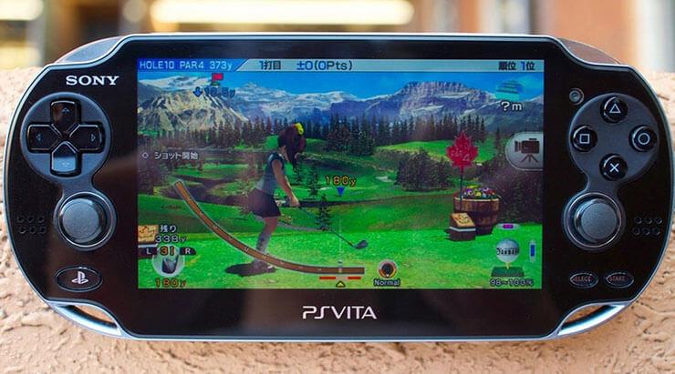 PlaysStation Vita, um dos produtos e serviços que foram descontinuados em 2018