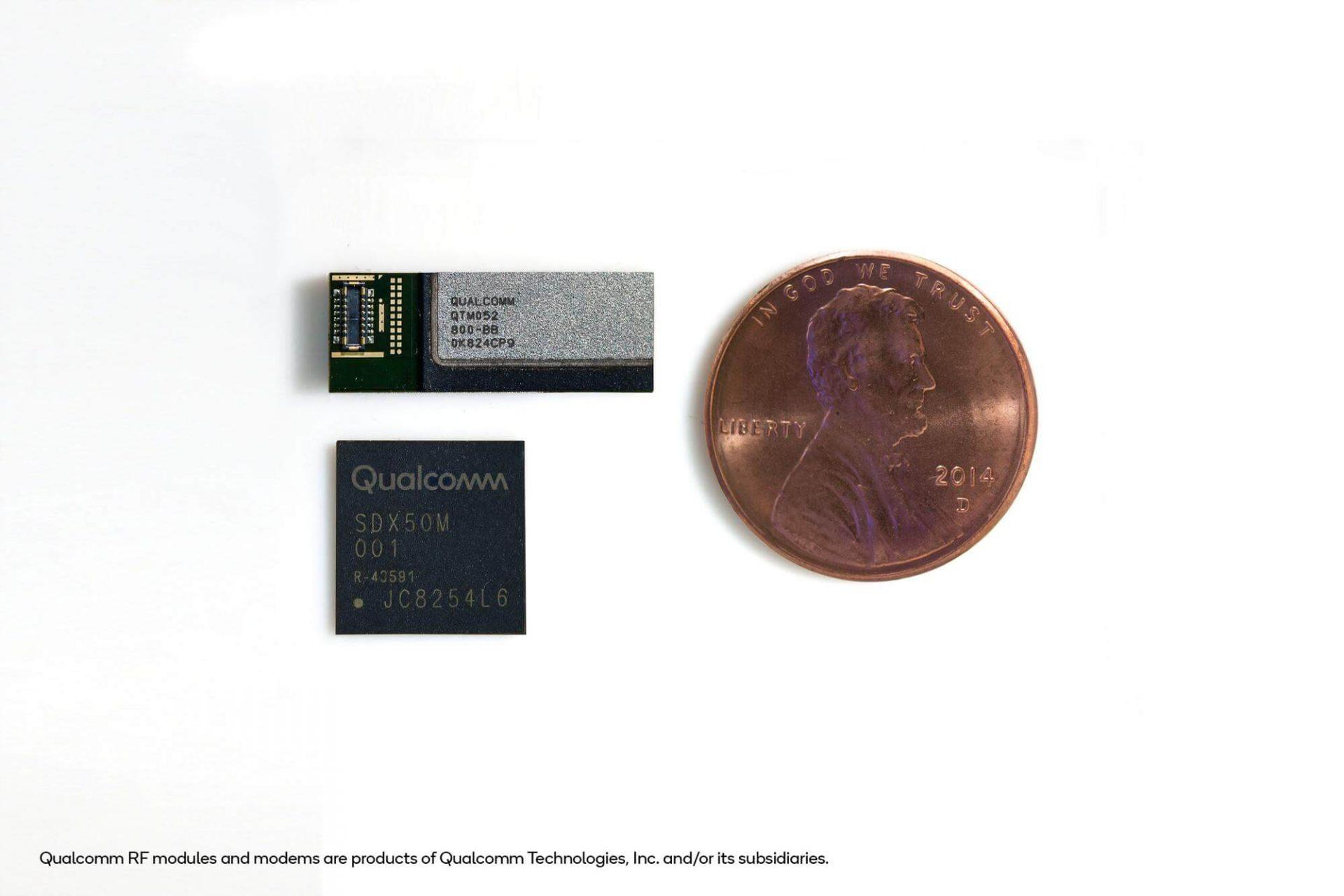 Novo chip 5G para smarpthones lançado pela Qualcomm
