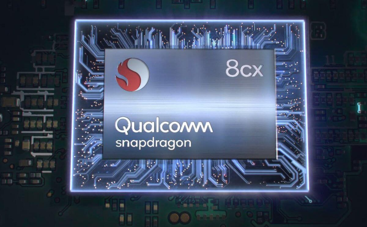 qualcom snapdragon 8cx chip render.0 1200x742 - Snapdragon 8cx é o novo processador da Qualcomm para PCs com Windows