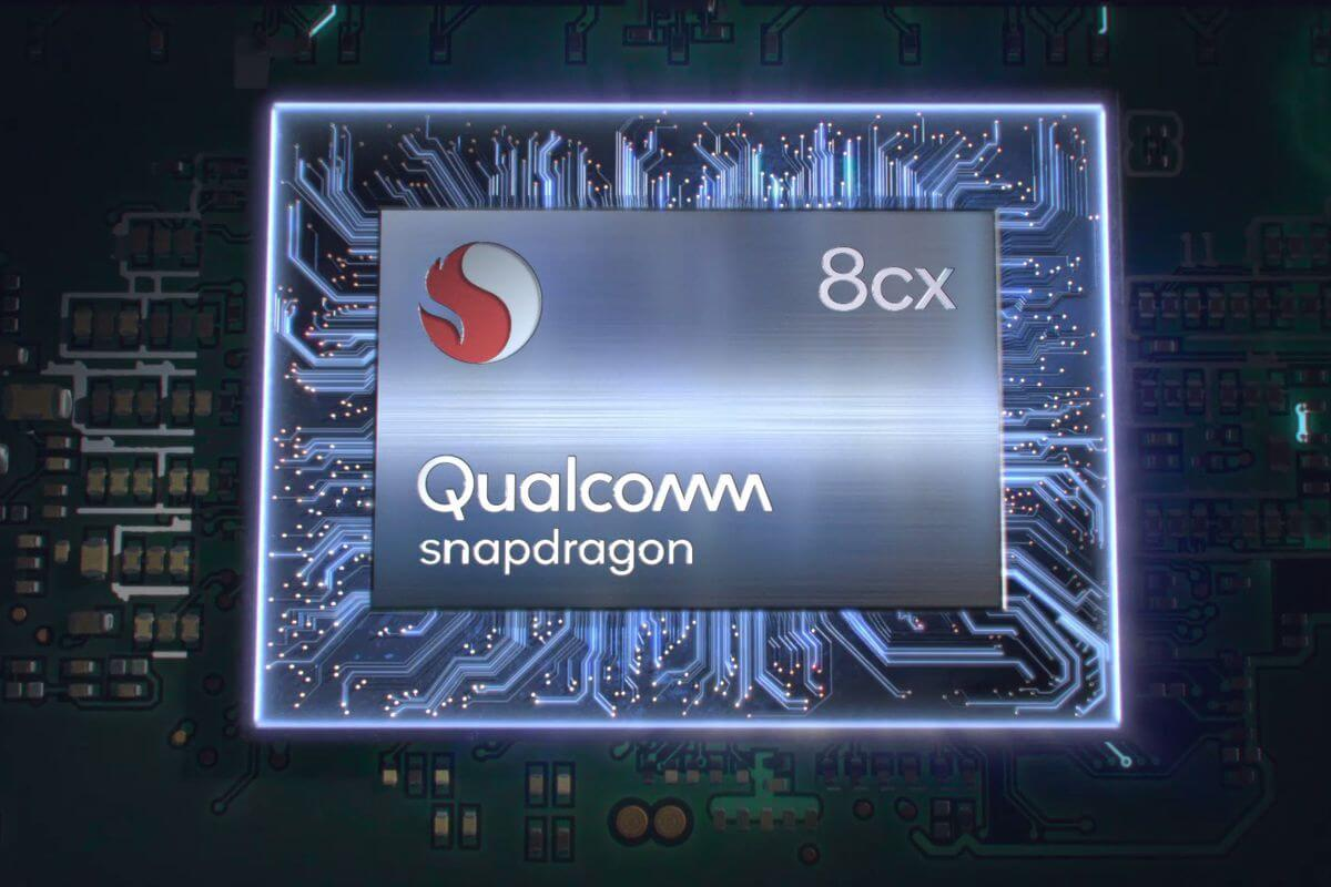 Qualcom snapdragon 8cx chip render. 0
