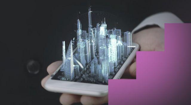 samsung possui patente celular tela holografica - Samsung preenche patente para tela capaz de projetar hologramas em 3D