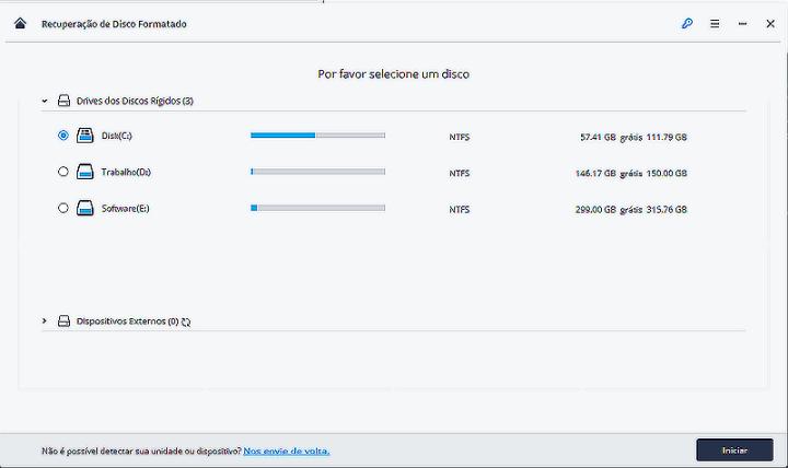 select formatted disk 720x428 - Saiba como recuperar arquivos deletados de seu computador com o Recoverit
