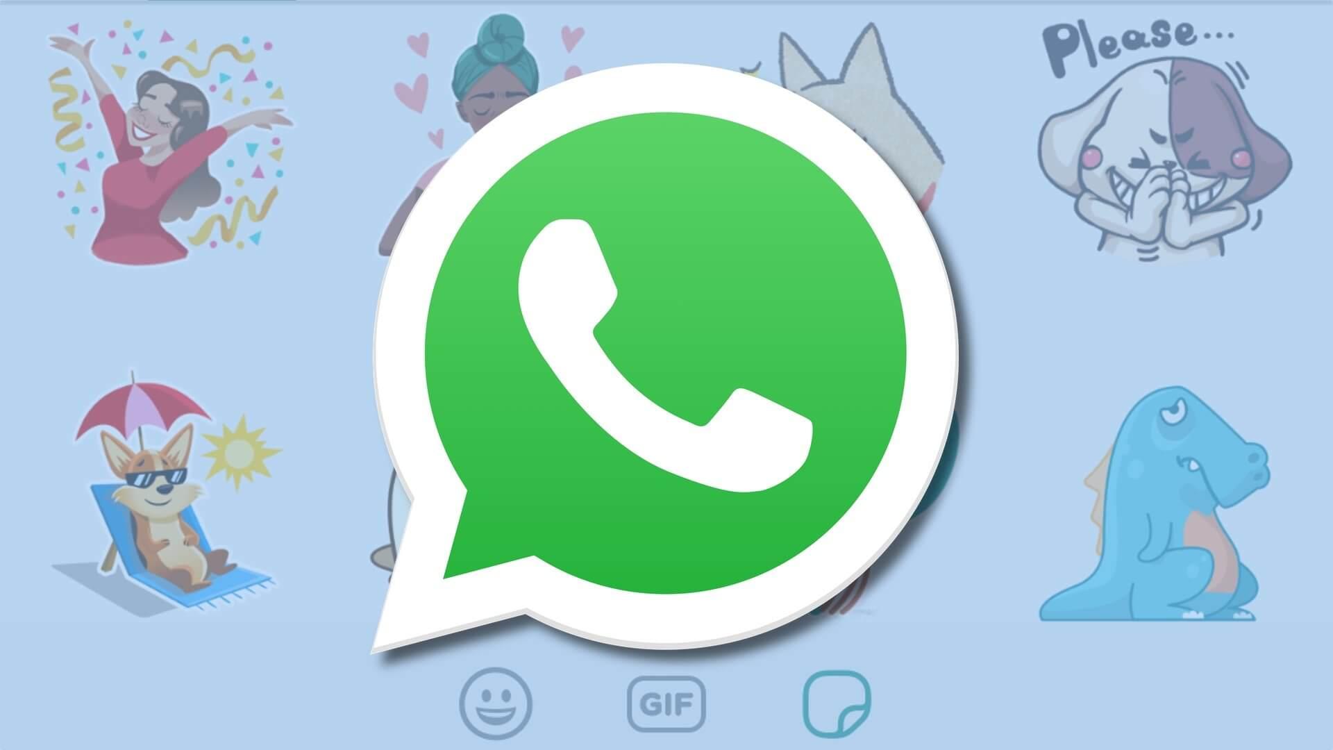 Whatsapp stickers hero