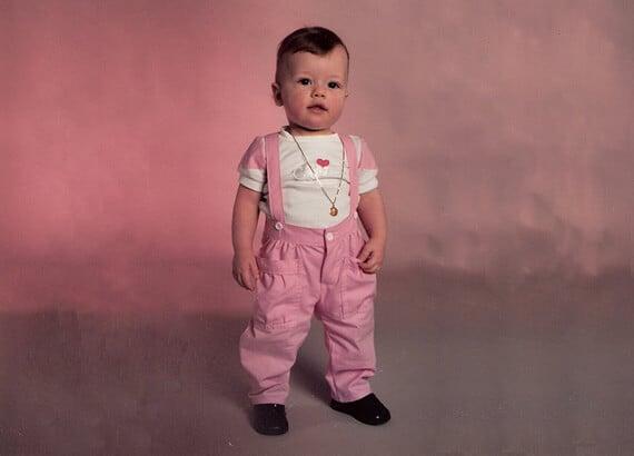 Em 1918, rosa era considerada uma cor mais apropriada para meninos