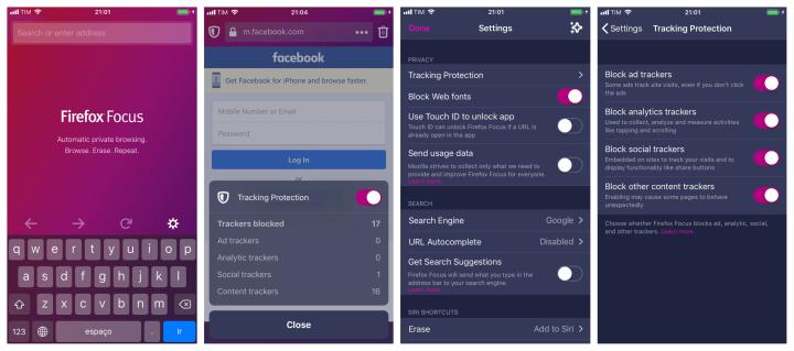 Firefox Focus - Dicas de Apps para iPhone
