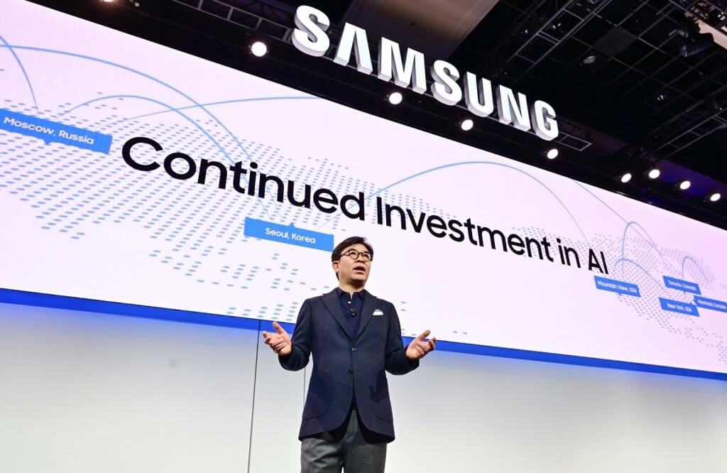 Hs kim president and ceo of consumer electronics division samsung electronics at ces 2019 samsung press conference 1 1024x666