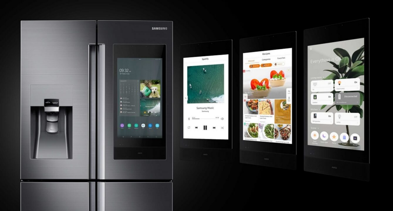Next generation of family hub refrigerator capa