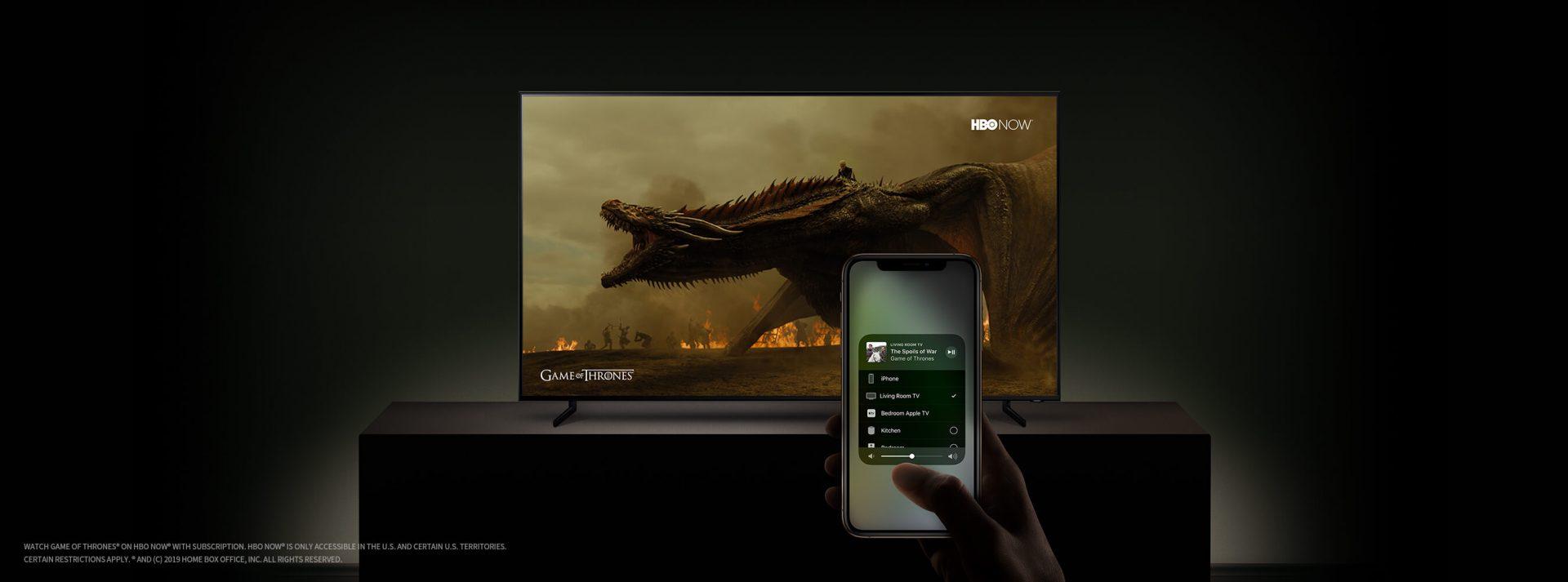 Samsung TV Airplay - CES 2019: TVs da Sony e LG também terão suporte ao Apple AirPlay 2