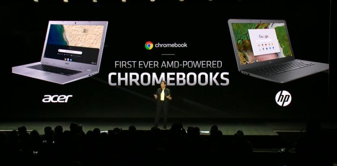 CES 2019 AMD Chromebooks