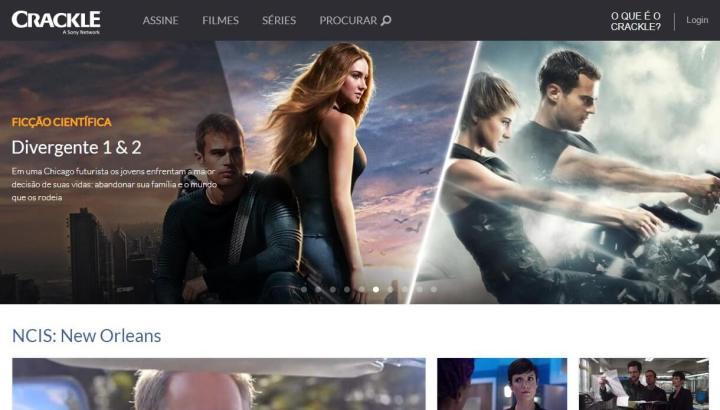 Crackle: Ótima alternativa de site para assistir filmes online de maneira gratuita