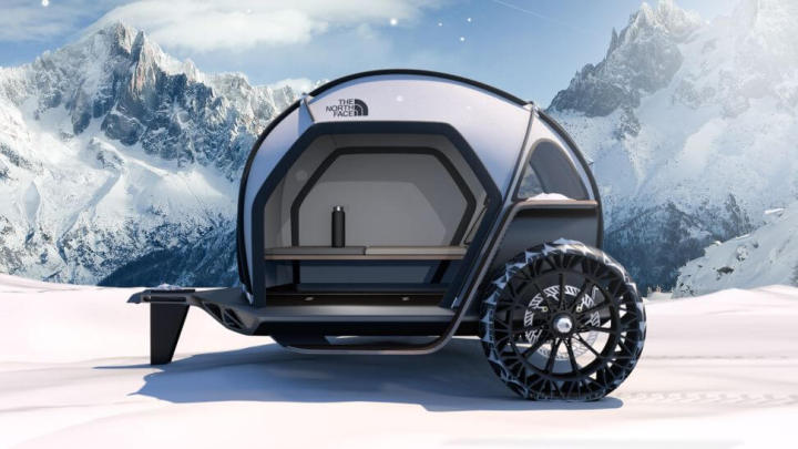 futurelight2 720x405 - CES 2019: The North Face e BMW apresentam barraca de camping futurista