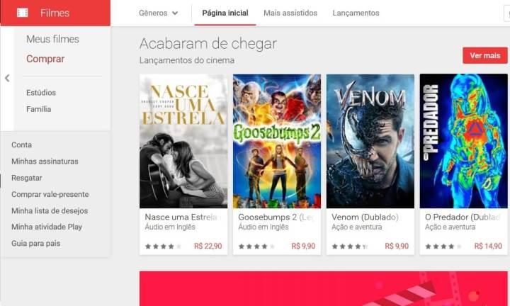 Alternativas pagas para assistir online os principais filmes em alta qualidade, inclusive os lançamentos.