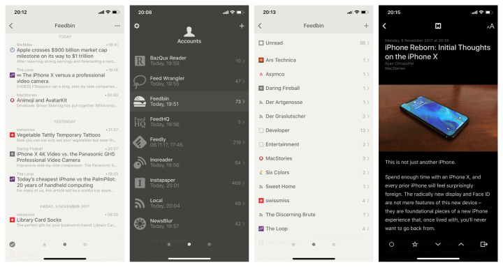 Reeder 3 - Dicas de Apps para iPhone