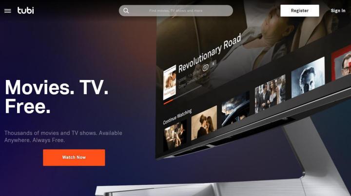 Tubi TV está em quase todas as plataformas e é gratuito para assistir filmes online