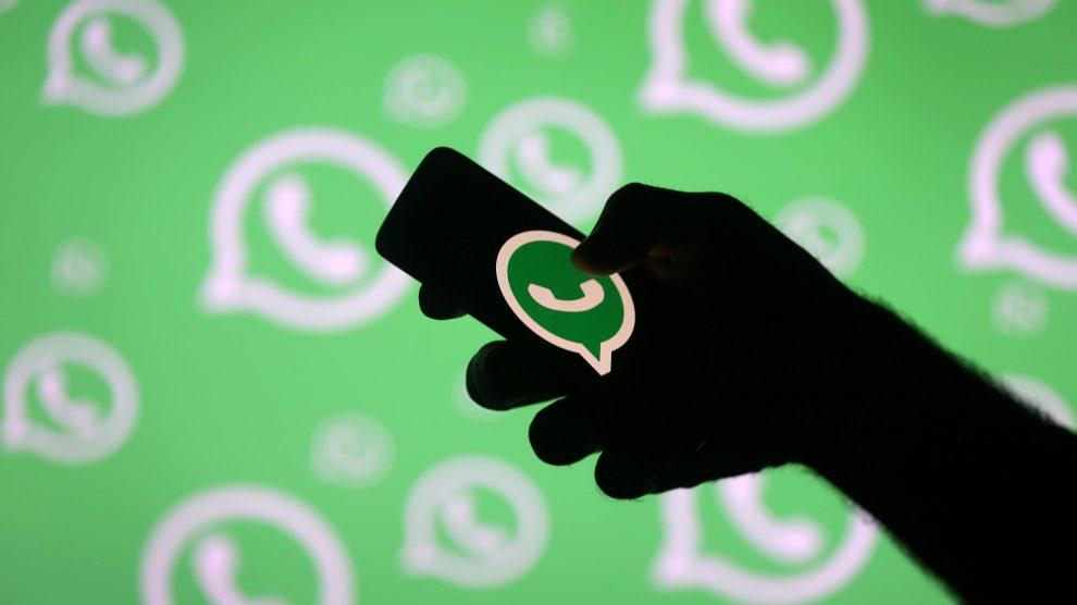 WhatsApp. REUTERS/Dado Ruvic/File Photo