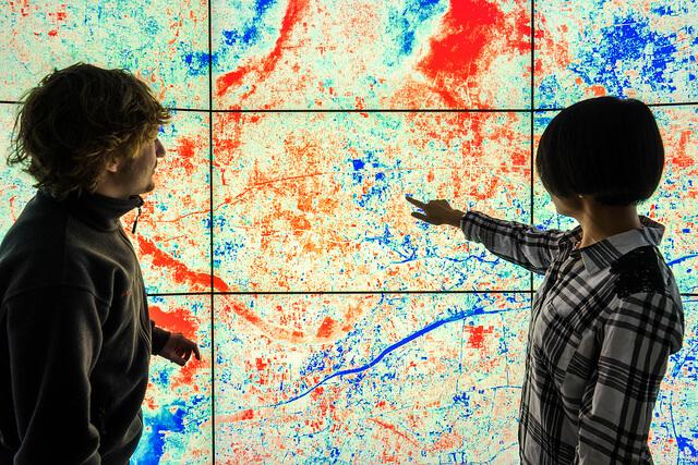 Com o uso do gemeo digital será possível prever como mudanças climáticas ou do tempo podem afetar certas áreas de plantio