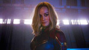 Cenas inéditas de Capitã Marvel foram divulgadas no Super Bowl 2019.