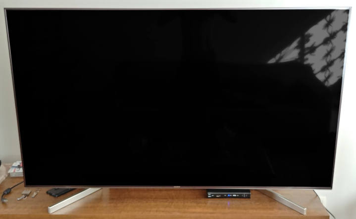 Sony TV X905F frontal