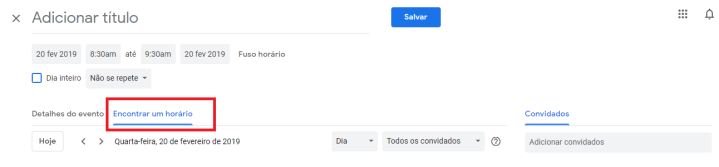 Otimizar o uso do Google Agenda