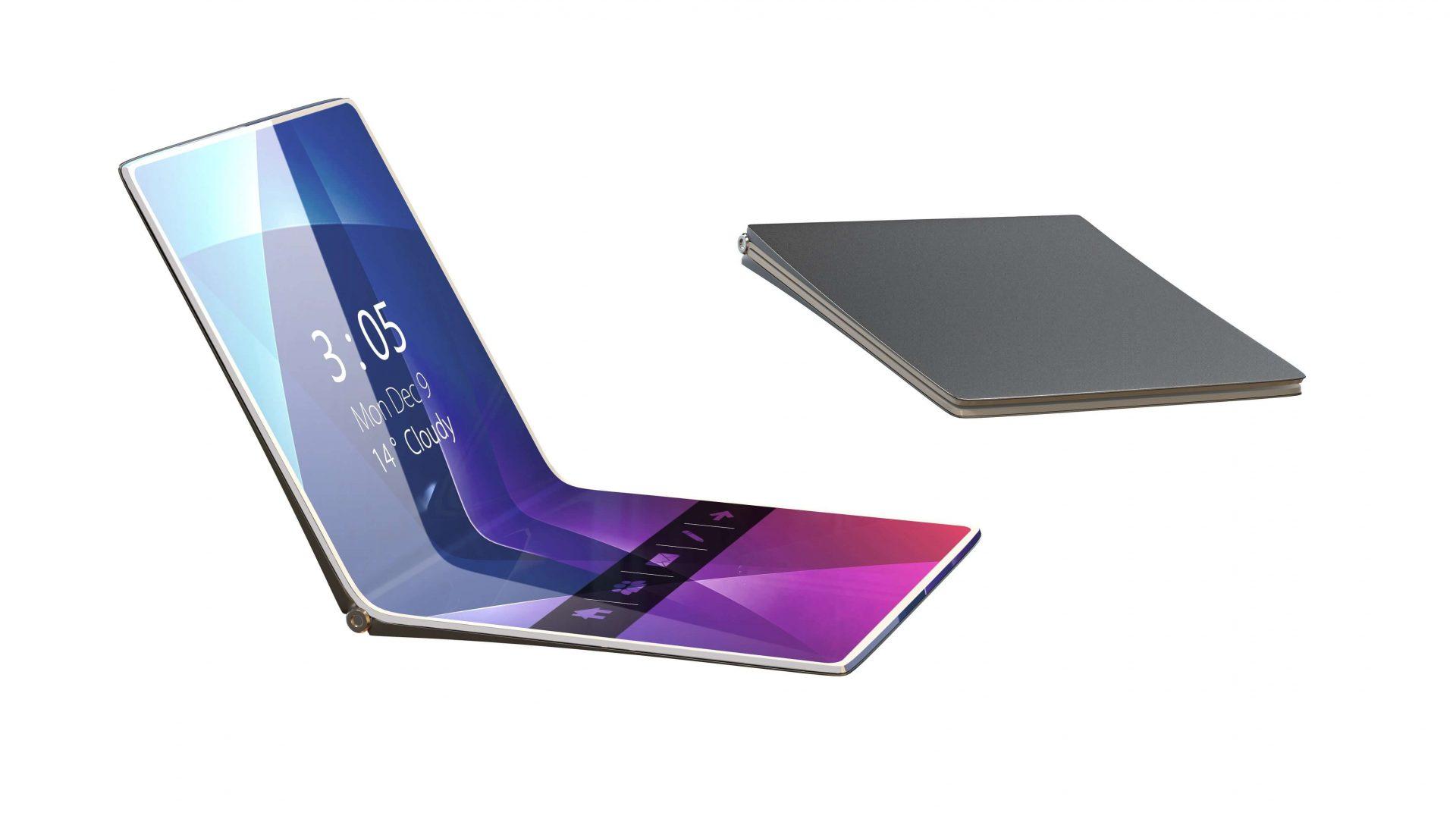 Huawei foldable smartphone