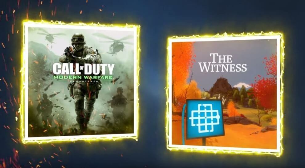 PS Plus de Março terá Call of Duty e The Witness
