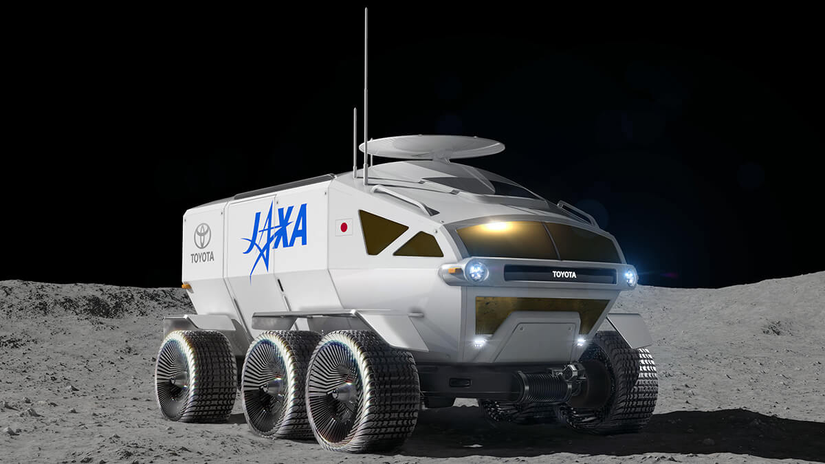 Toyota e JAXA trabalham em dupla para o chamado Team Japan