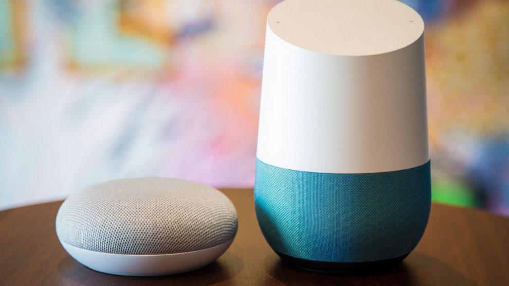 Google Home e Mini. Foto: CNET