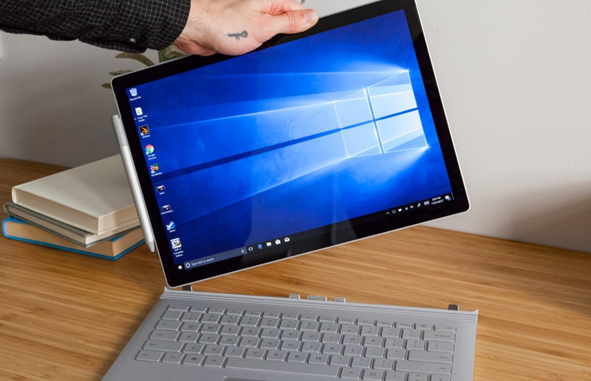 Microsoft surface book 2 capa