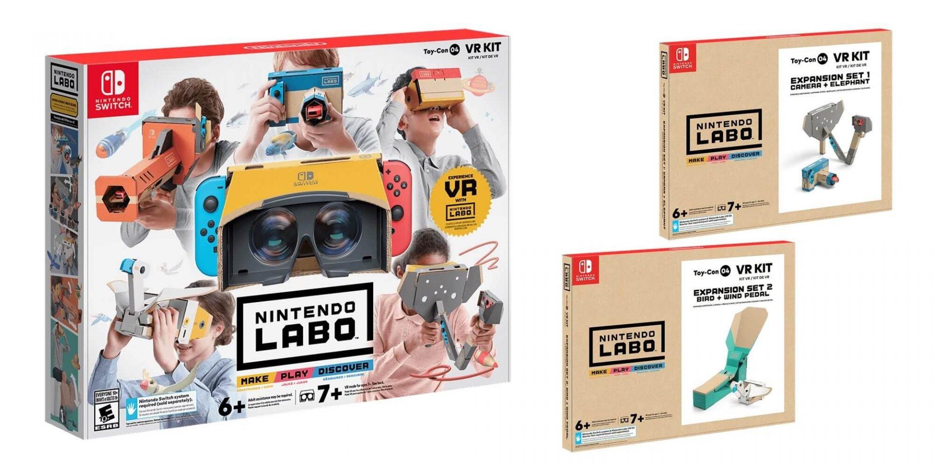Nintendo labo vr kit 2