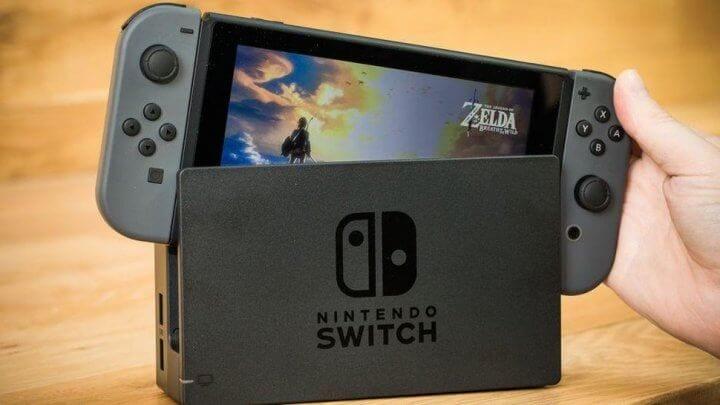 Diversão garantida com o nintendo switch