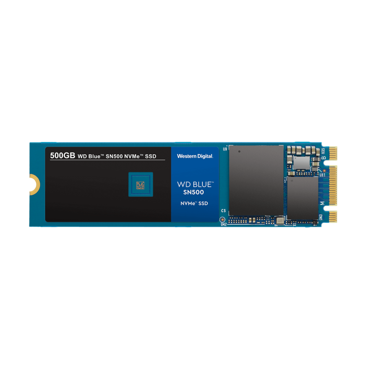 Novo SSD WD Blue de 500 GB