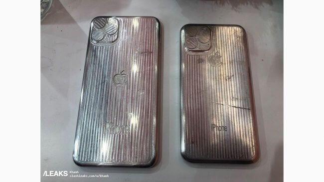 Foto de supostas capas pro iPhone 11 já mostram três cameras no canto superior esquerdo