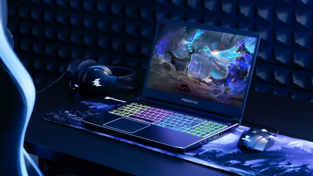 Acer notebook predator helios