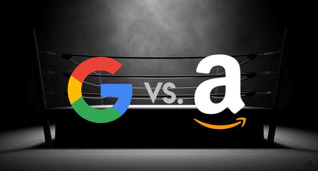 Google contra a amazon