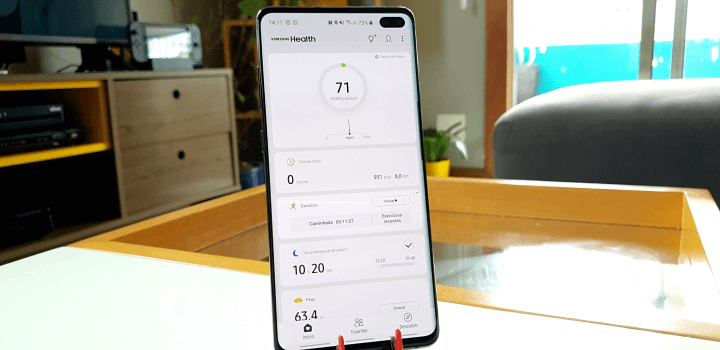 Samsung health galaxy s10