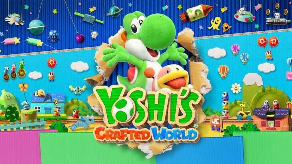 Yoshis crafted world 1