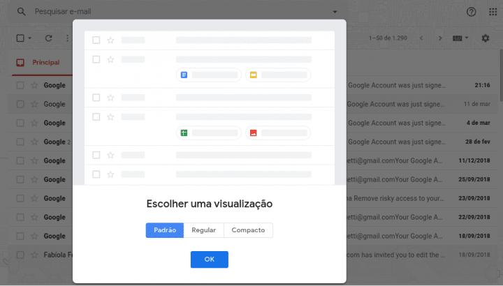 recursos do gmail