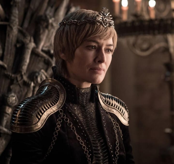 Cersei na 8ª temporada de Game of Thrones