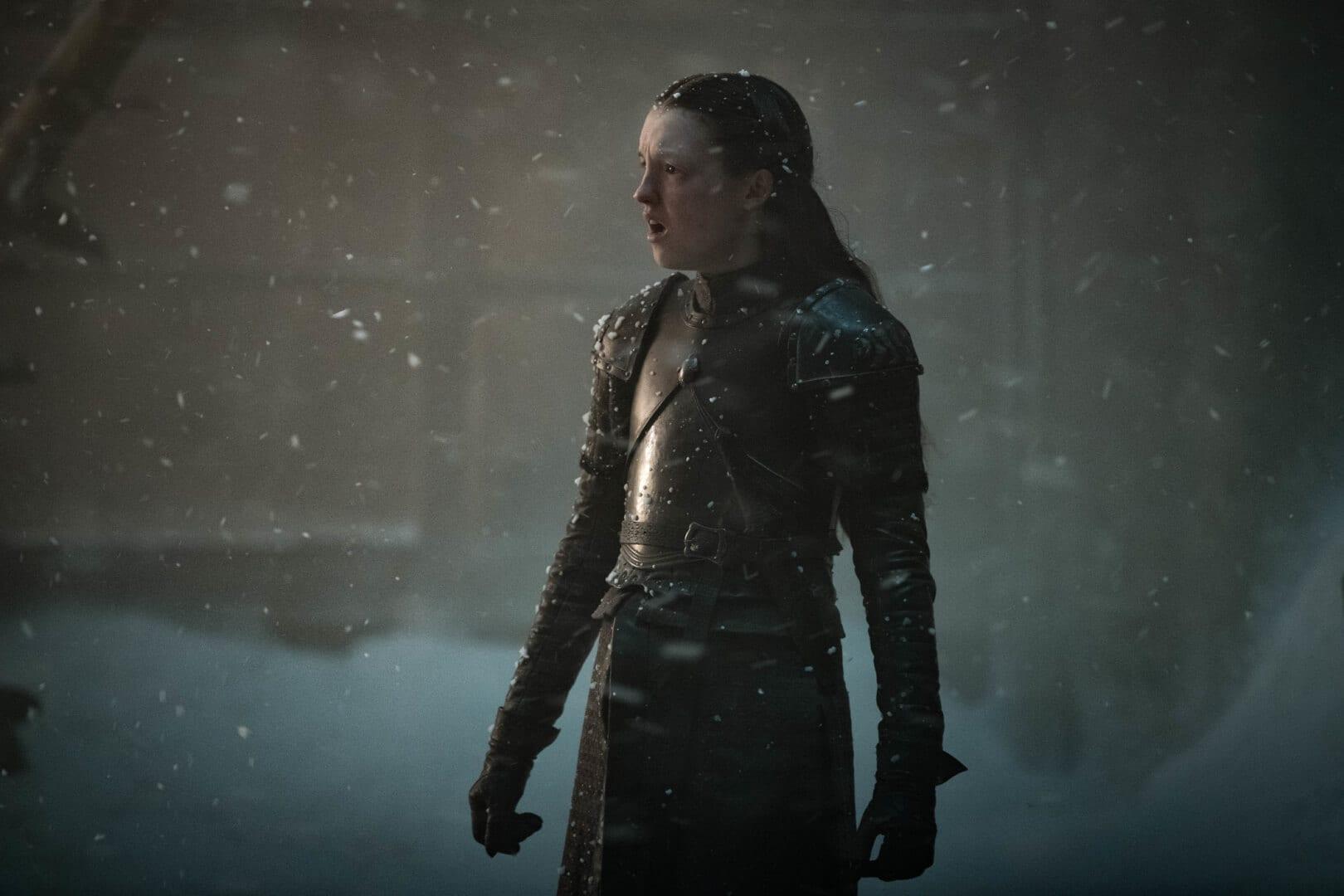 Bella Ramsey como Lyanna Mormont.