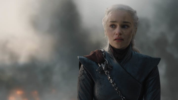 Daenerys no quinto episódio da oitava temporada de Game of Thrones.
