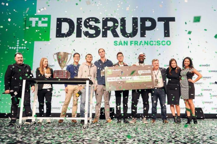 O TechCrunch Disrupt é um dos maiores eventos de tecnologia para startups