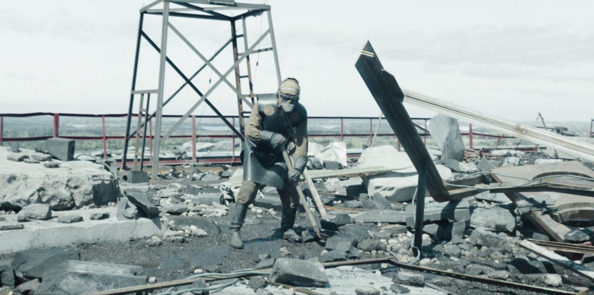 Cena de chernobyl da hbo