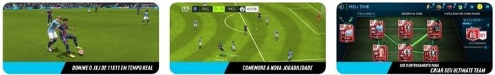 Futebol FIFA - melhores apps Android e ios