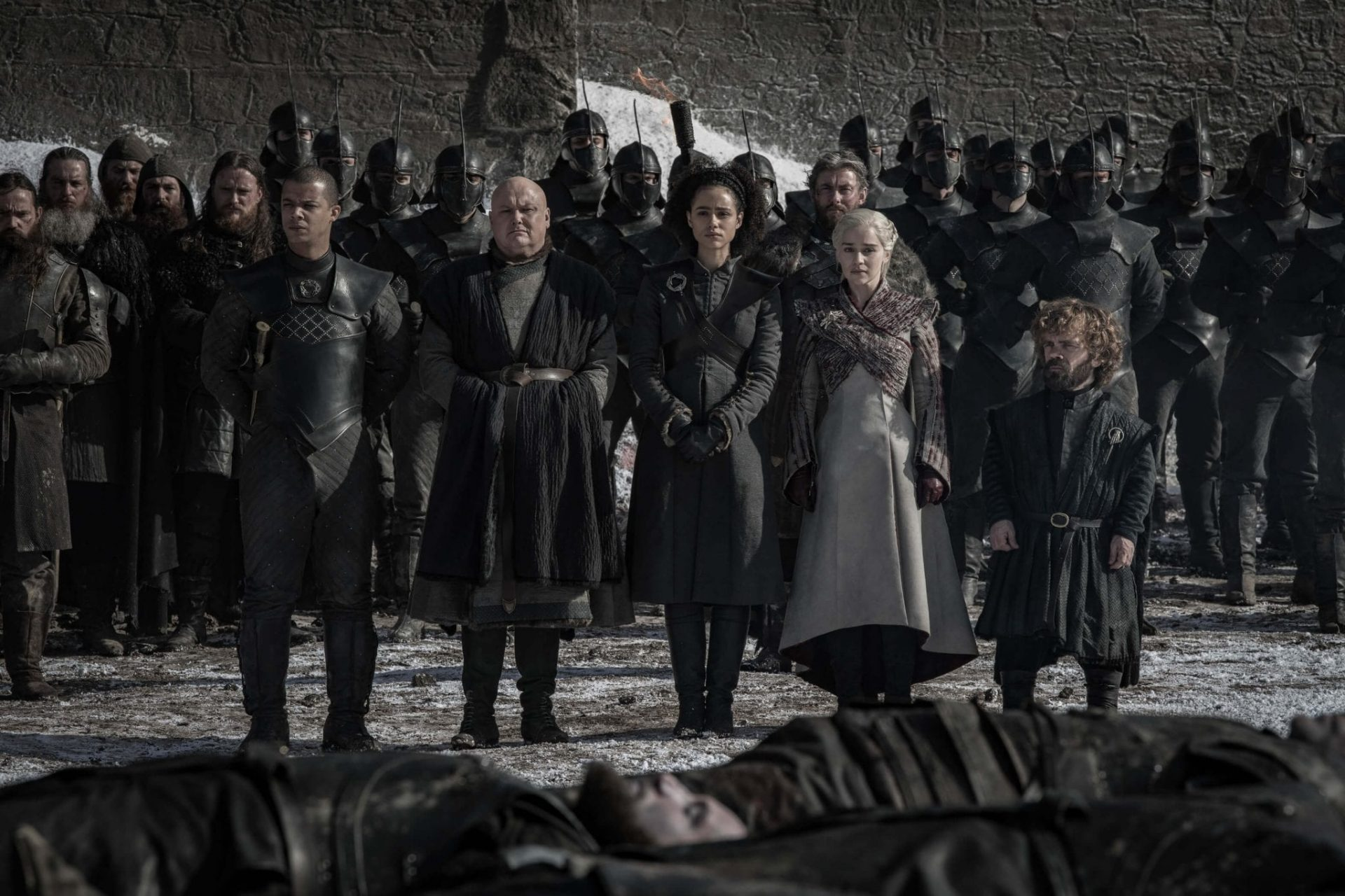 Cena do quarto episódio de Game of Thrones.