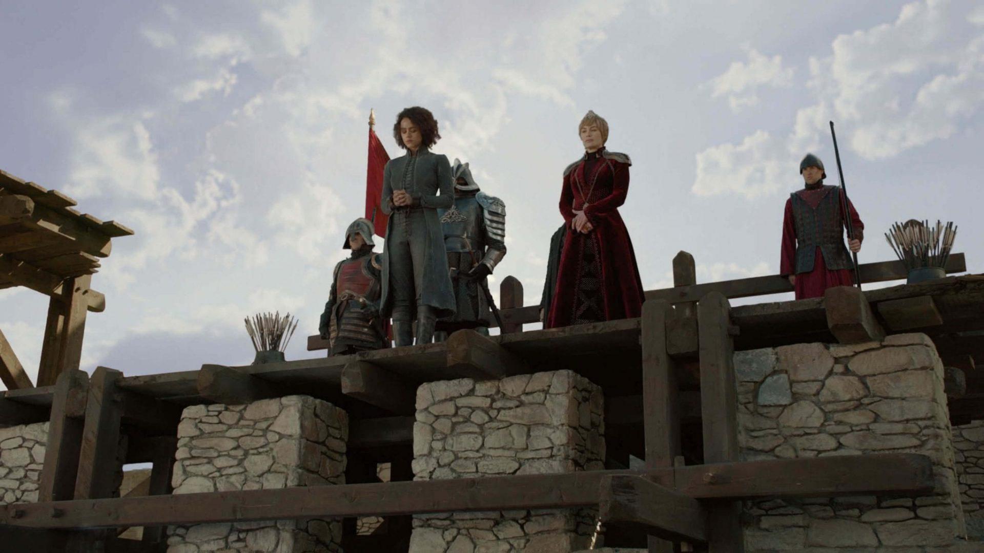 Cena do quarto episódio da oitava temporada de Game of Thrones.