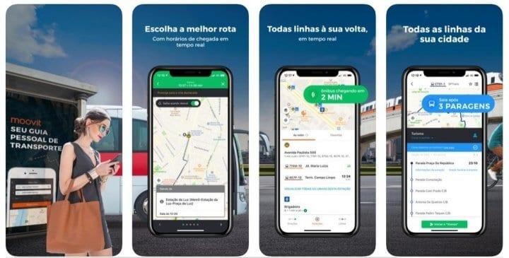 Moovit - melhores apps Android e ios