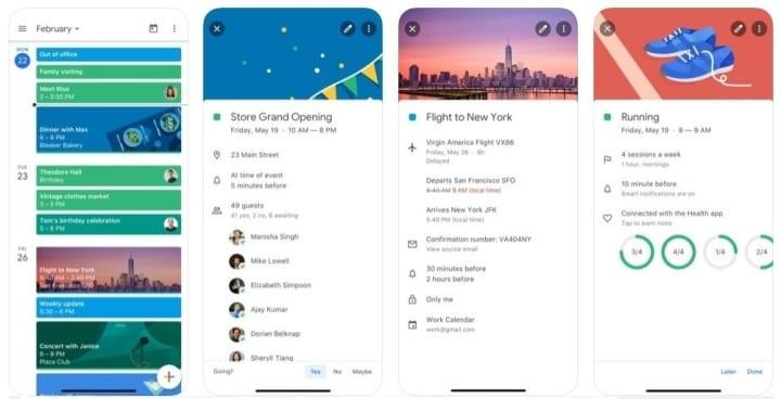 Google agenda - Aplicativos de produtividade