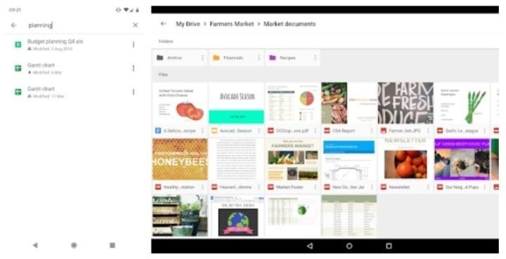 Google drive - apps de produtividade